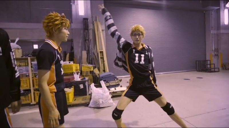DVD Haikyuu!! Победители и Проигравшие!: Видео из-за Кулис Комментарии Актеров