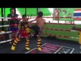 Детский спарринг - Rambaa somdet M16 gym