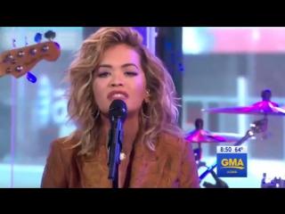 Рита Ора  Rita Ora - Your Song (телешоу  Good Morning America) Нью-Йорк .США.07  08 2017
