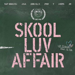 BTS альбом SKOOL LUV AFFAIR