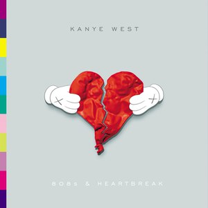 Kanye West альбом 808s & Heartbreak (UK Version)