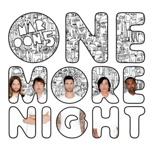 Maroon 5 альбом One More Night