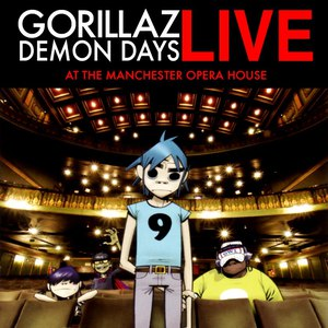 Gorillaz альбом Demon Days Live at The Manchester Opera House