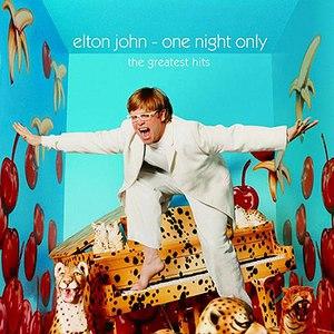 Elton John альбом One Night Only