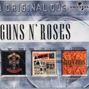 Guns N' Roses альбом Appetite For Destruction / G N'R Lies / The Spaghetti Incident
