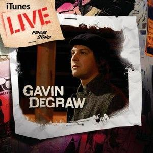Gavin DeGraw альбом Live From Soho