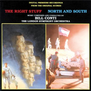 Bill Conti альбом The Right Stuff / North And South