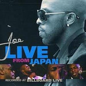 JOE альбом Live From Japan
