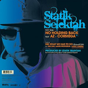 Statik Selektah альбом No Holding Back