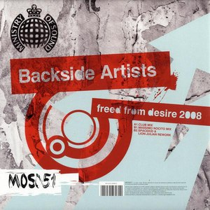 Backside Artists альбом Freed From Desire