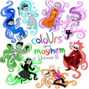 Homestuck альбом coloUrs and mayhem: Universe B