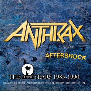 Anthrax альбом Aftershock - The Island Years 1985 - 1990