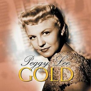 Peggy Lee альбом Gold