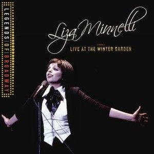 Liza Minnelli альбом Legends Of Broadway - Liza Minnelli Live At The Winter Garden