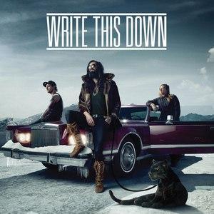Write This Down альбом Write This Down