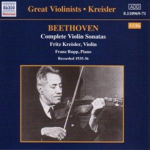 Ludwig Van Beethoven альбом BEETHOVEN: Violin Sonatas (Complete) (Kreisler) (1935-1936)
