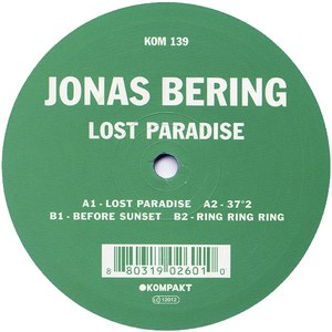 jonas bering альбом Lost Paradise