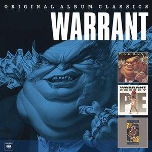 Warrant альбом Original Album Classics