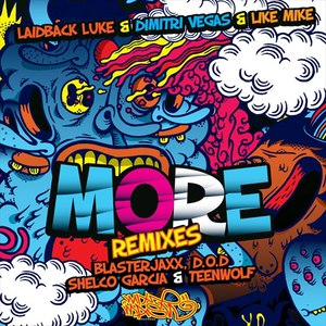 Laidback Luke альбом MORE (Remixes)