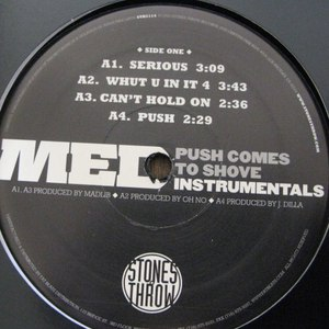 MED альбом Push Comes To Shove Instrumentals