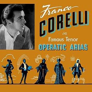 Franco Corelli альбом Famous Tenor Operatic Arias