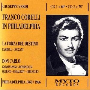Franco Corelli альбом In Philadelphia
