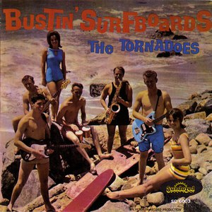 The Tornadoes альбом Bustin' Surfboards