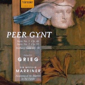 Edvard Grieg альбом Grieg: Peer Gynt, Suite No. 1, Op. 46 / Suite No. 2, Op. 55 / Holberg Suite, Op. 40