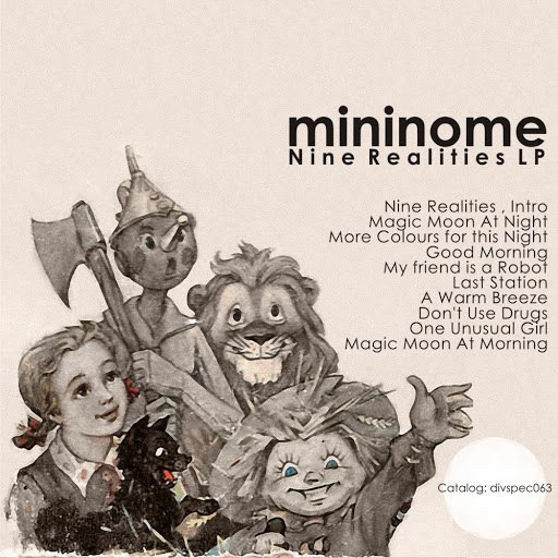 mininome альбом Nine Realities LP