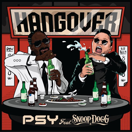PSY альбом Hangover feat. Snoop Dog