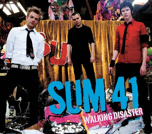 Sum 41 альбом Walking Disaster (Live)