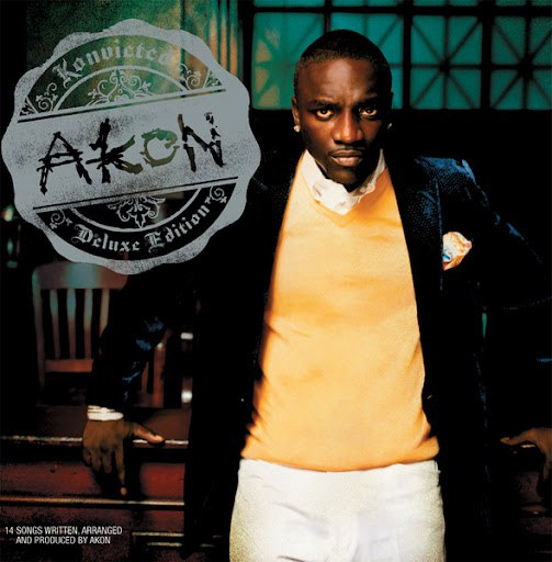Akon альбом Konvicted (Deluxe Edition)