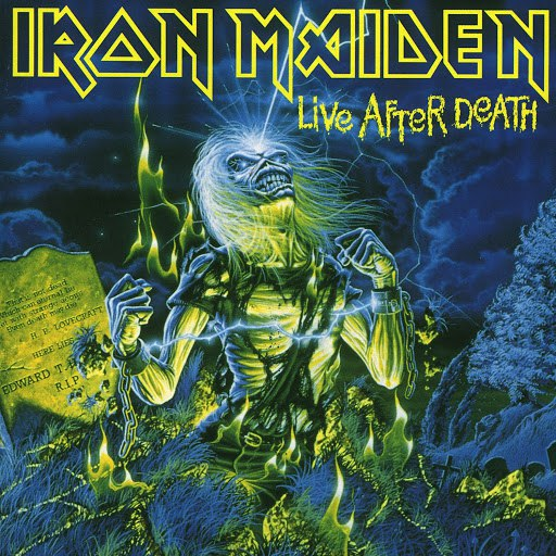 Iron Maiden альбом Live After Death (1998 Remastered Edition)