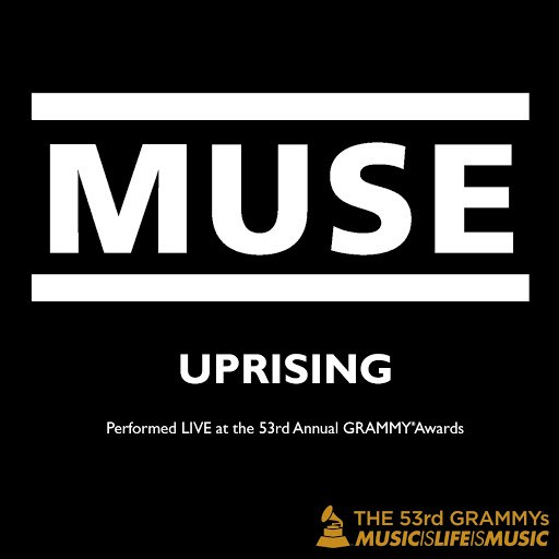 Muse альбом Uprising (Live at the 53rd Annual Grammy Awards)