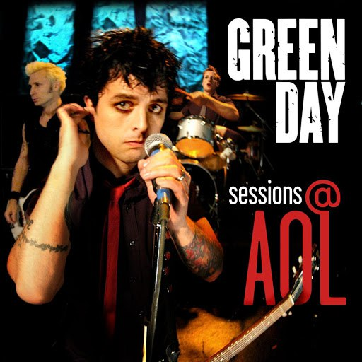 Green Day альбом sessions@aol (DMD Maxi Single)