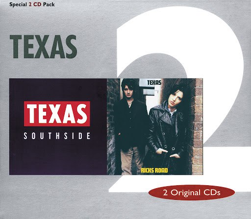Texas альбом Southside / Ricks Road (2 Original CD's)