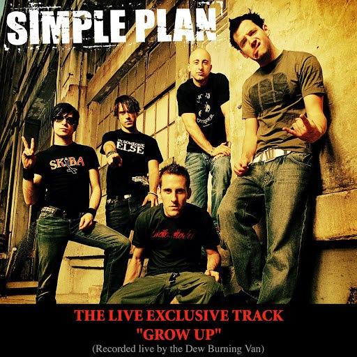 Simple Plan альбом Grow Up (Live Burning Van Version - Online single)