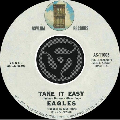 EAGLES альбом Take It Easy