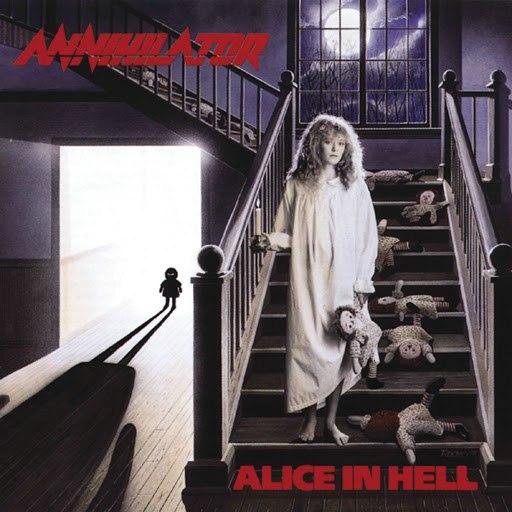Annihilator альбом Alice In Hell