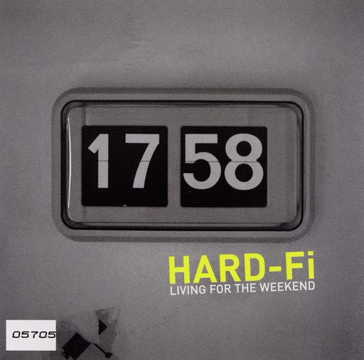 Hard-Fi альбом Living For The Weekend (UK ECD/ Digital)