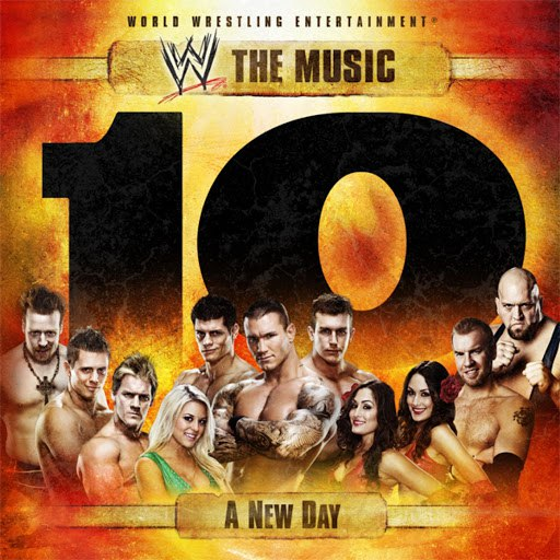 WWE альбом WWE: The Music - A New Day, Vol. 10