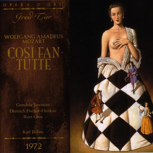 Wolfgang Amadeus Mozart альбом Cosi fan tutte