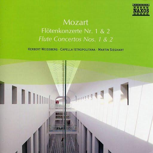 Wolfgang Amadeus Mozart альбом Mozart: Flute Concertos Nos. 1 And 2