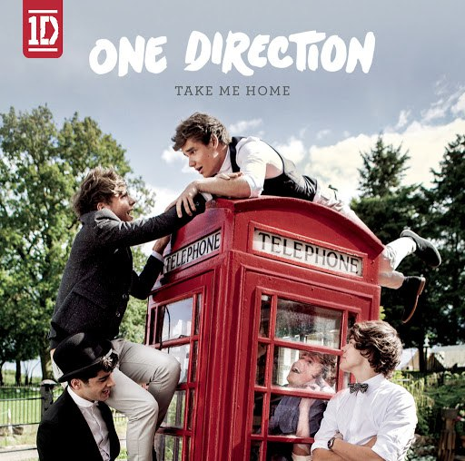 One Direction альбом Take Me Home