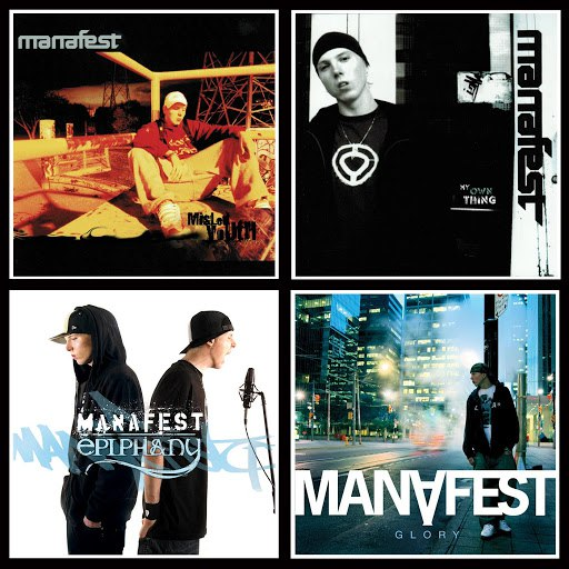 Manafest альбом 4 Pack (Misled Youth, My Own Thing, Epiphany, & Glory)