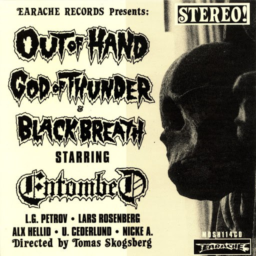 Entombed альбом Out Of Hand EP