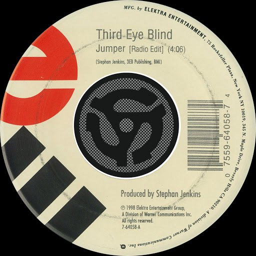 Third Eye Blind альбом Jumper [Radio Edit] / Graduate [Remix] [Digital 45]