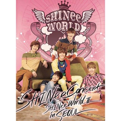 SHINee альбом SHINee THE 2nd CONCERT ALBUM 'SHINee WORLD Ⅱ in Seoul' (Live)