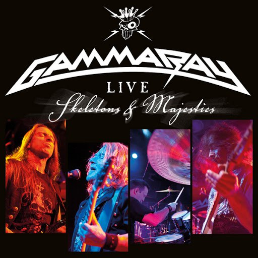 Gamma Ray альбом Skeletons & Majesties Live (Live Fom Z7, Pratteln, Switzerland/2011)