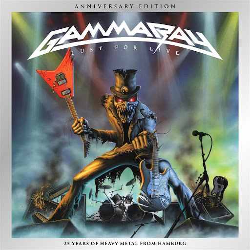 Gamma Ray альбом Lust For Live (Anniversary Edition) (Live Version)